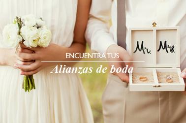 Encuentra tus alianzas de boda